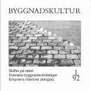 Byggnadskultur 1/92 : meddelande från Svenska föreningen för byggnadsvård - Red.