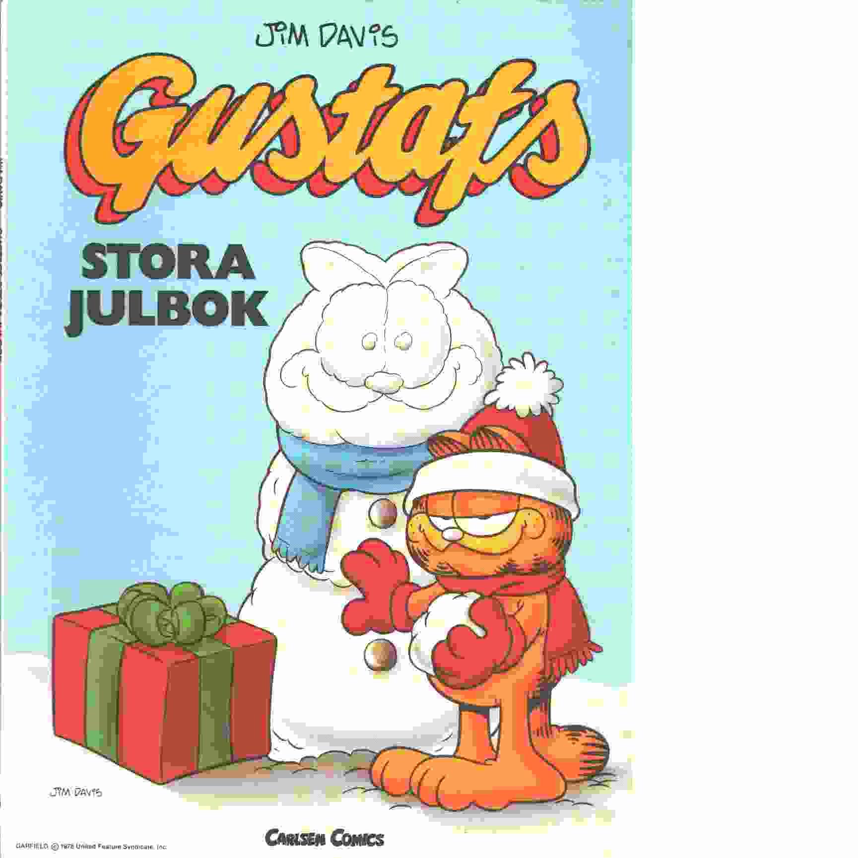 Gustafs stora julbok - Davis, Jim