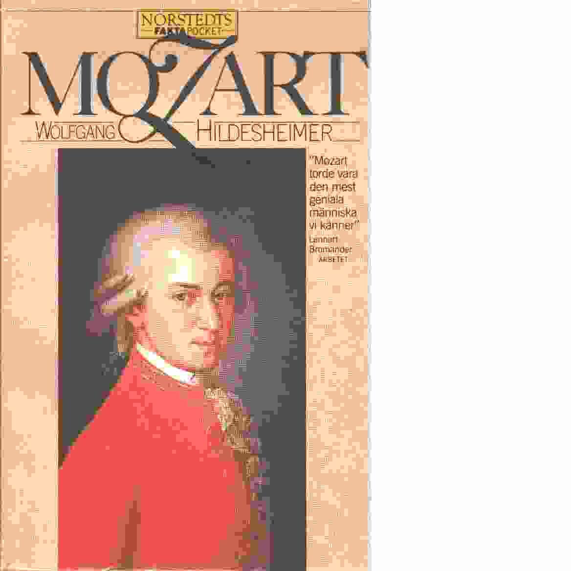 Mozart - Hildesheimer, Wolfgang