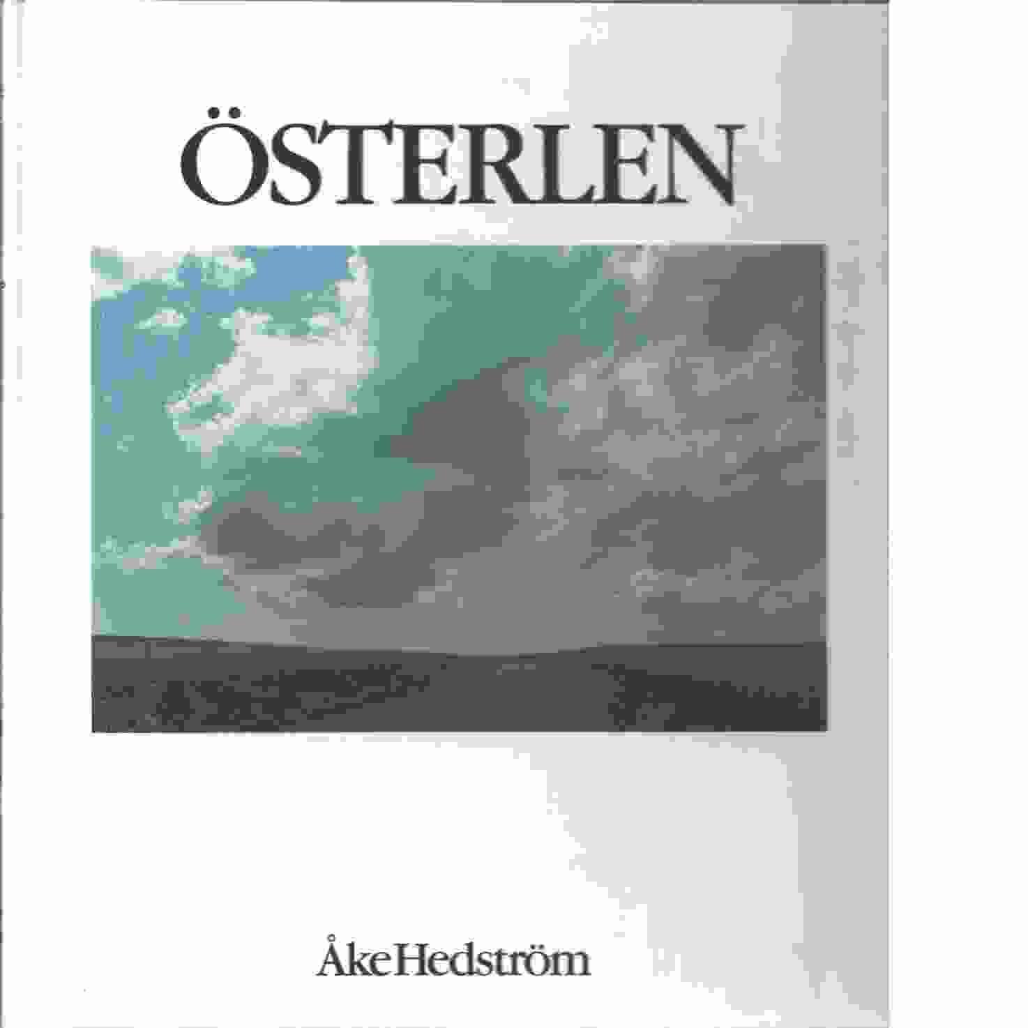 Österlen - Hedström, Åke