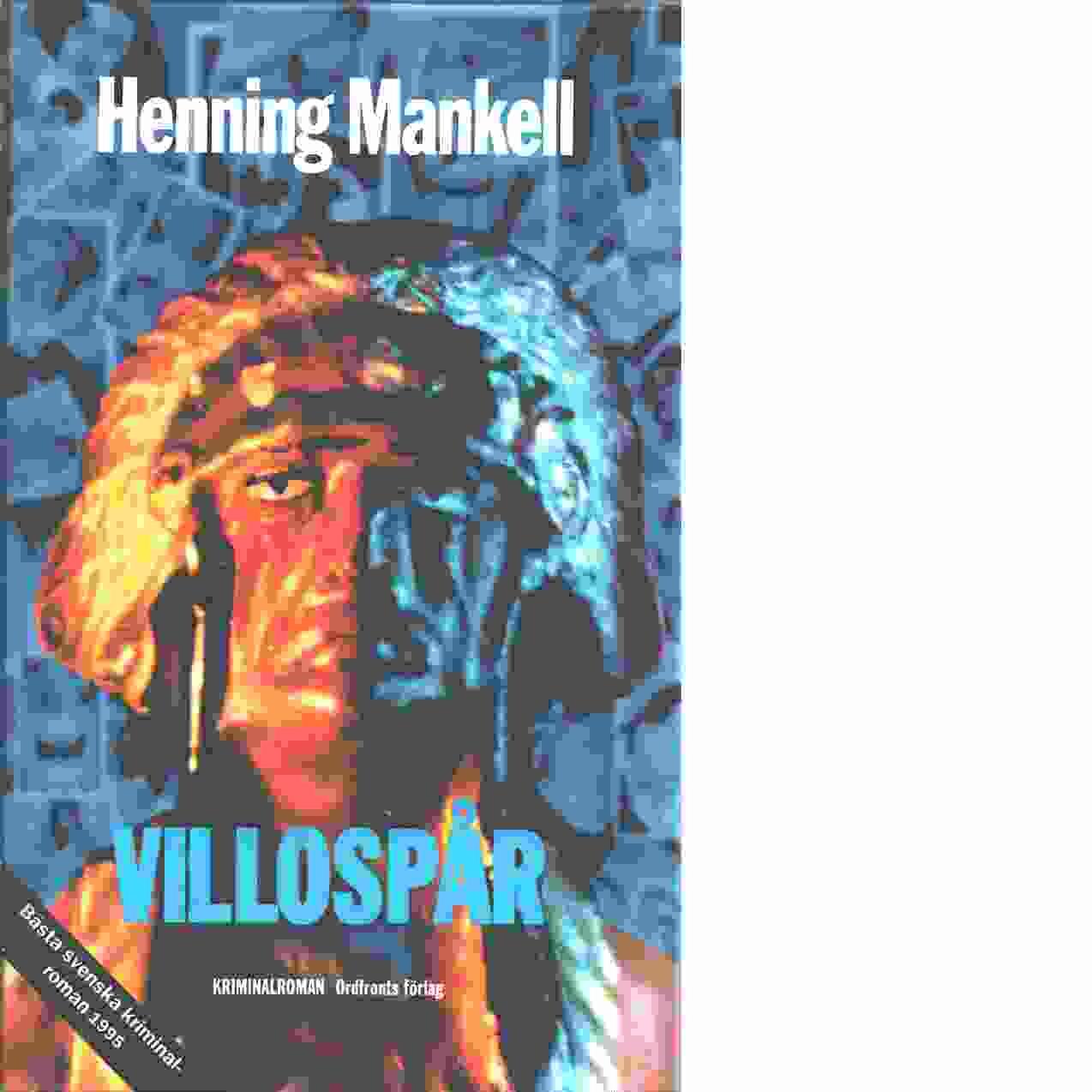 Villospår - Mankell, Henning