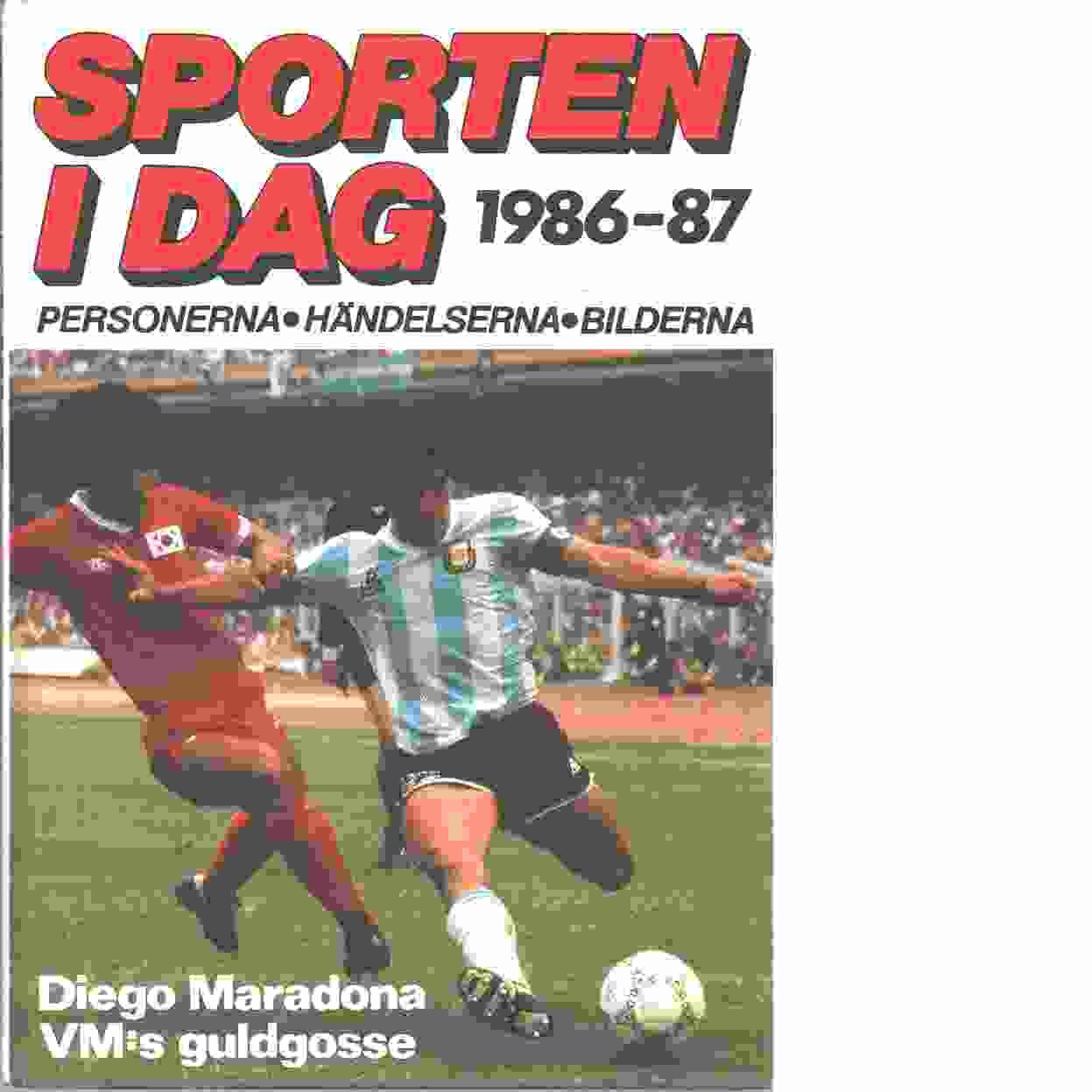 Sporten idag  1986-87 - Red,