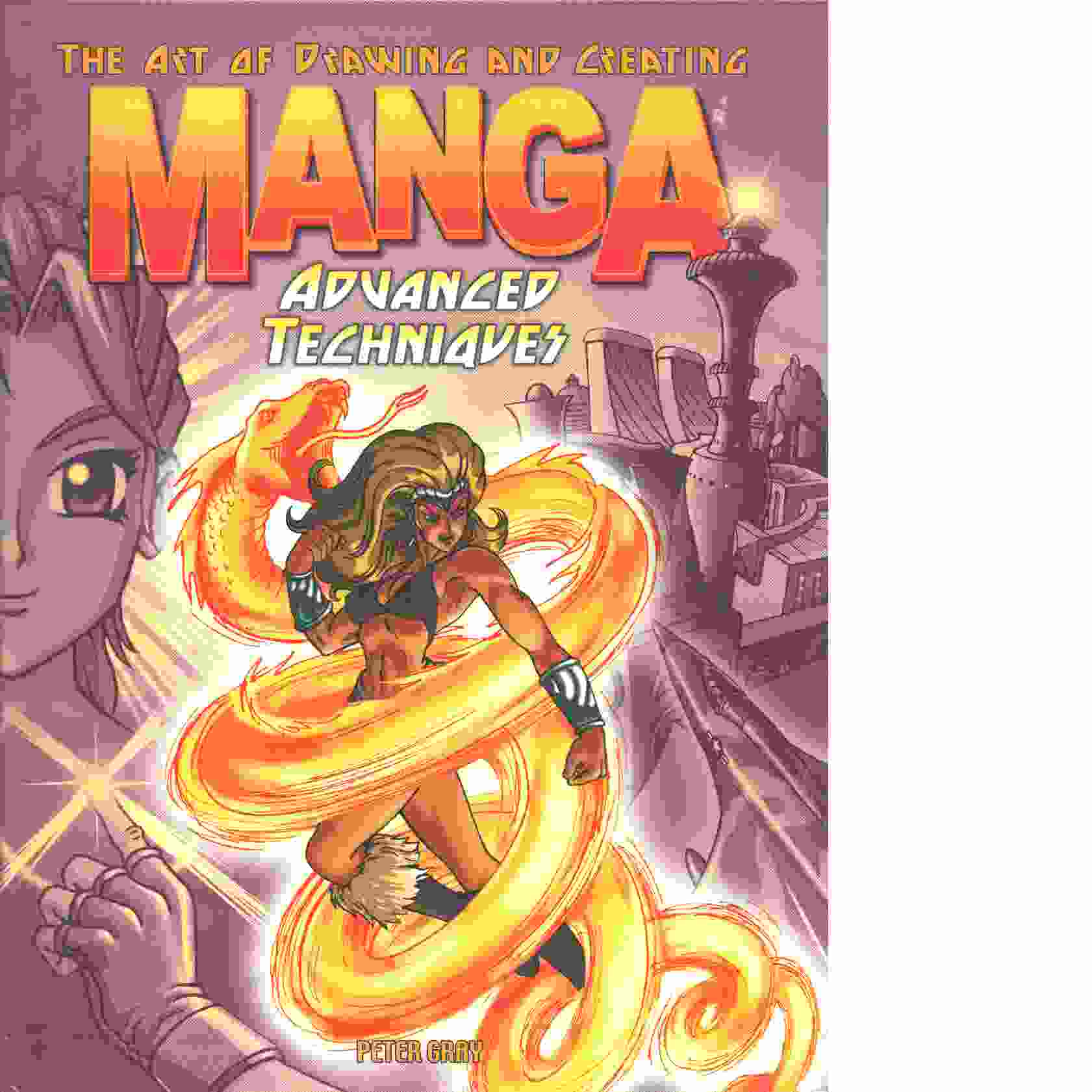 The Art of Drawing and Creating Manga Advanced Techniques - Gray, Peter