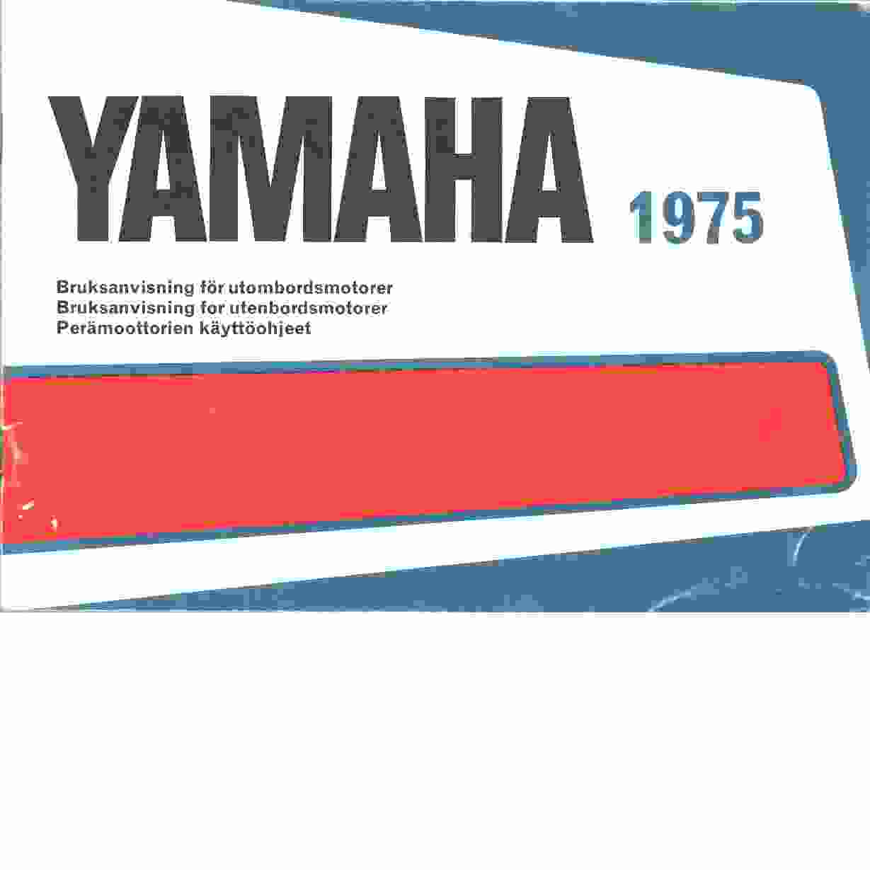 Yamaha - Red.
