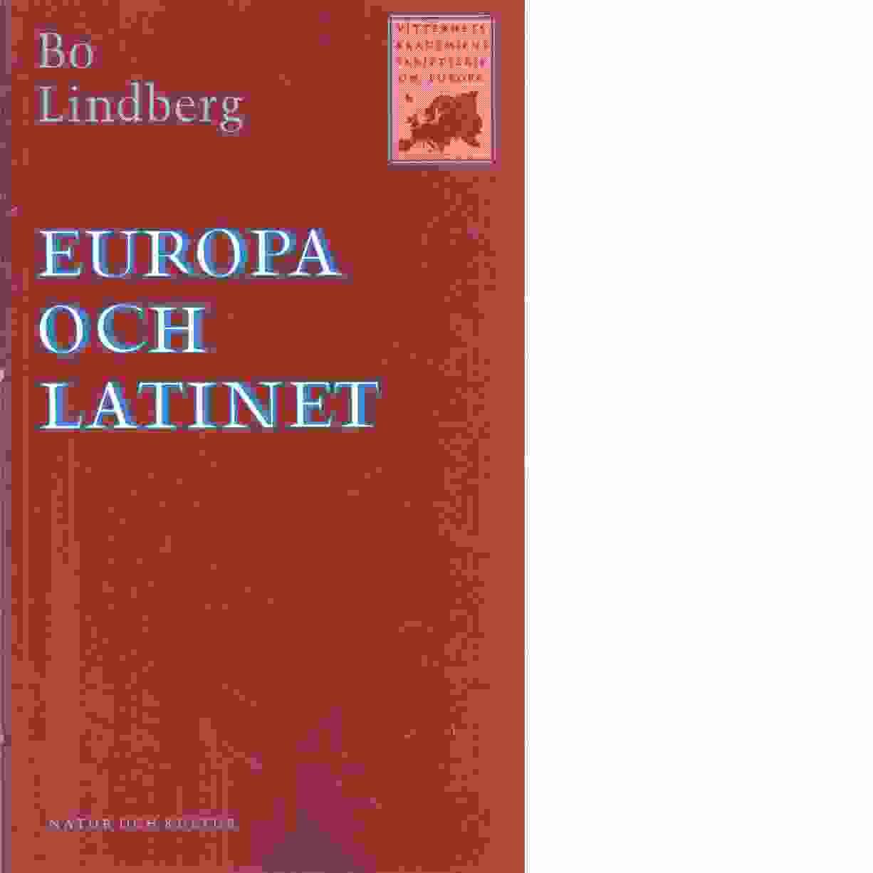Europa och latinet  - Lindberg, Bo