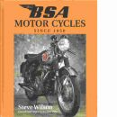 Bsa Motor Cycles: Since 1950 (British Motor Cycles Since 1950)  - Wilson, Steve