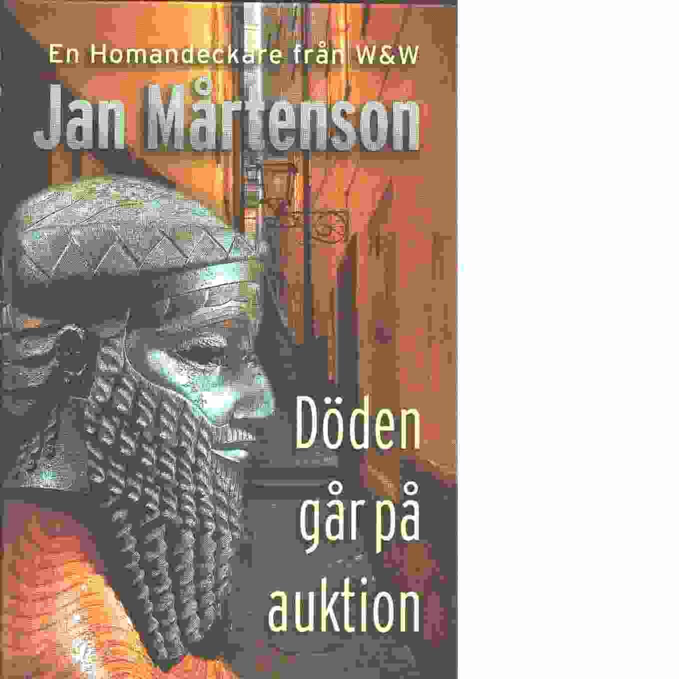 Döden går på auktion - Mårtenson, Jan