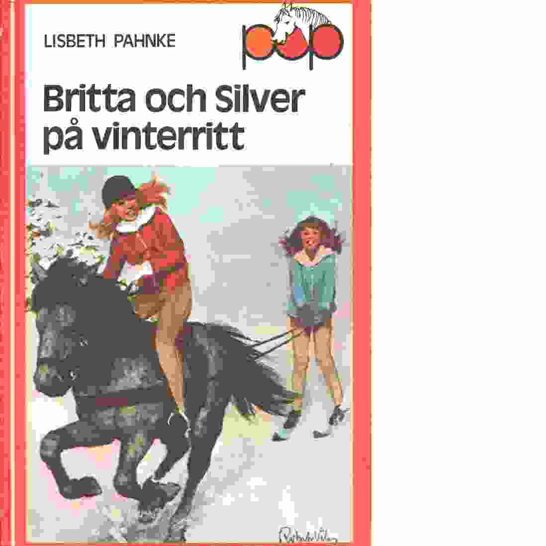 Britta och Silver på vinterritt - Pahnke, Lisbeth