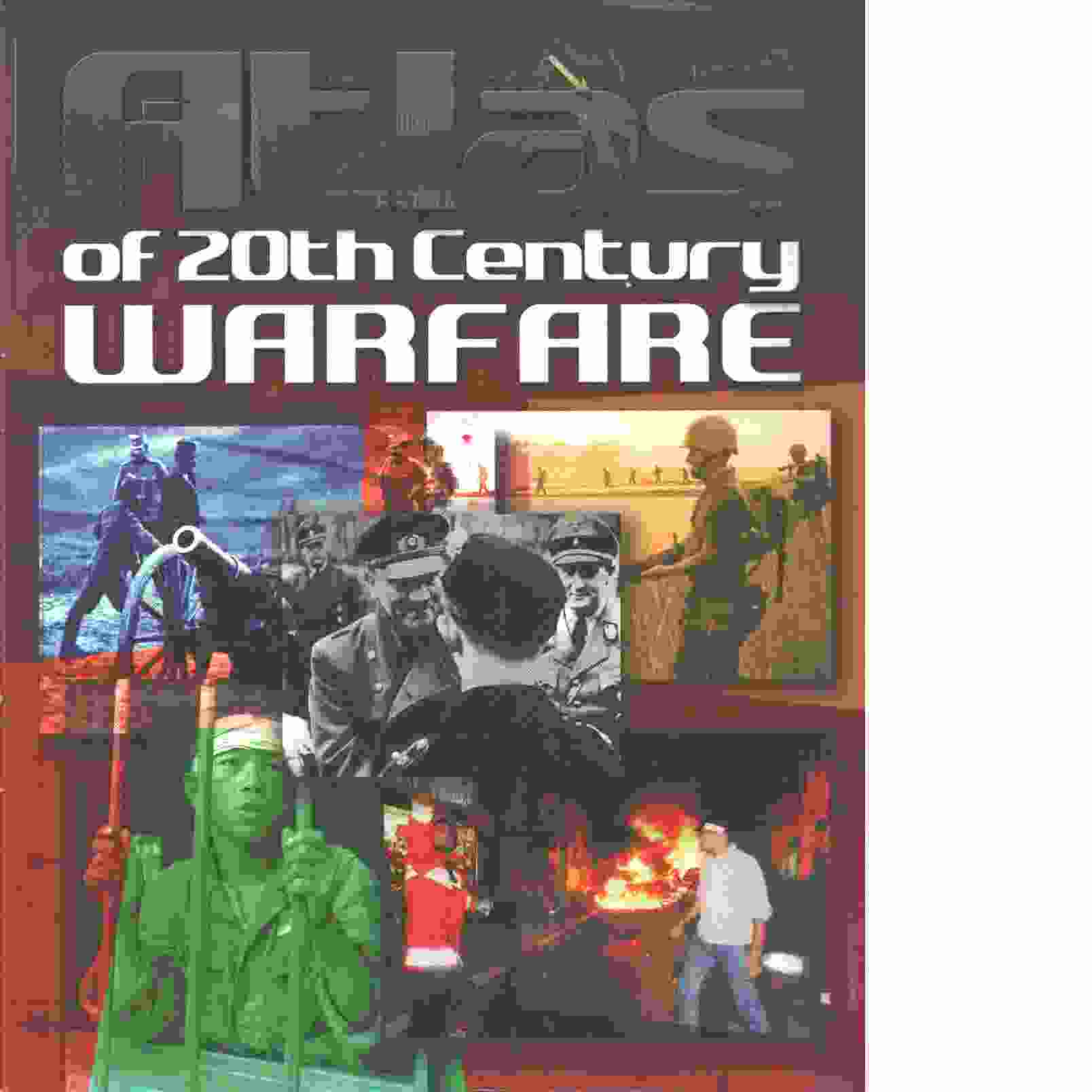 Atlas of 20th Century Warfare - Red.