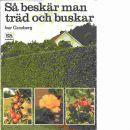 Så beskär man träd och buskar - Granberg, Ivar