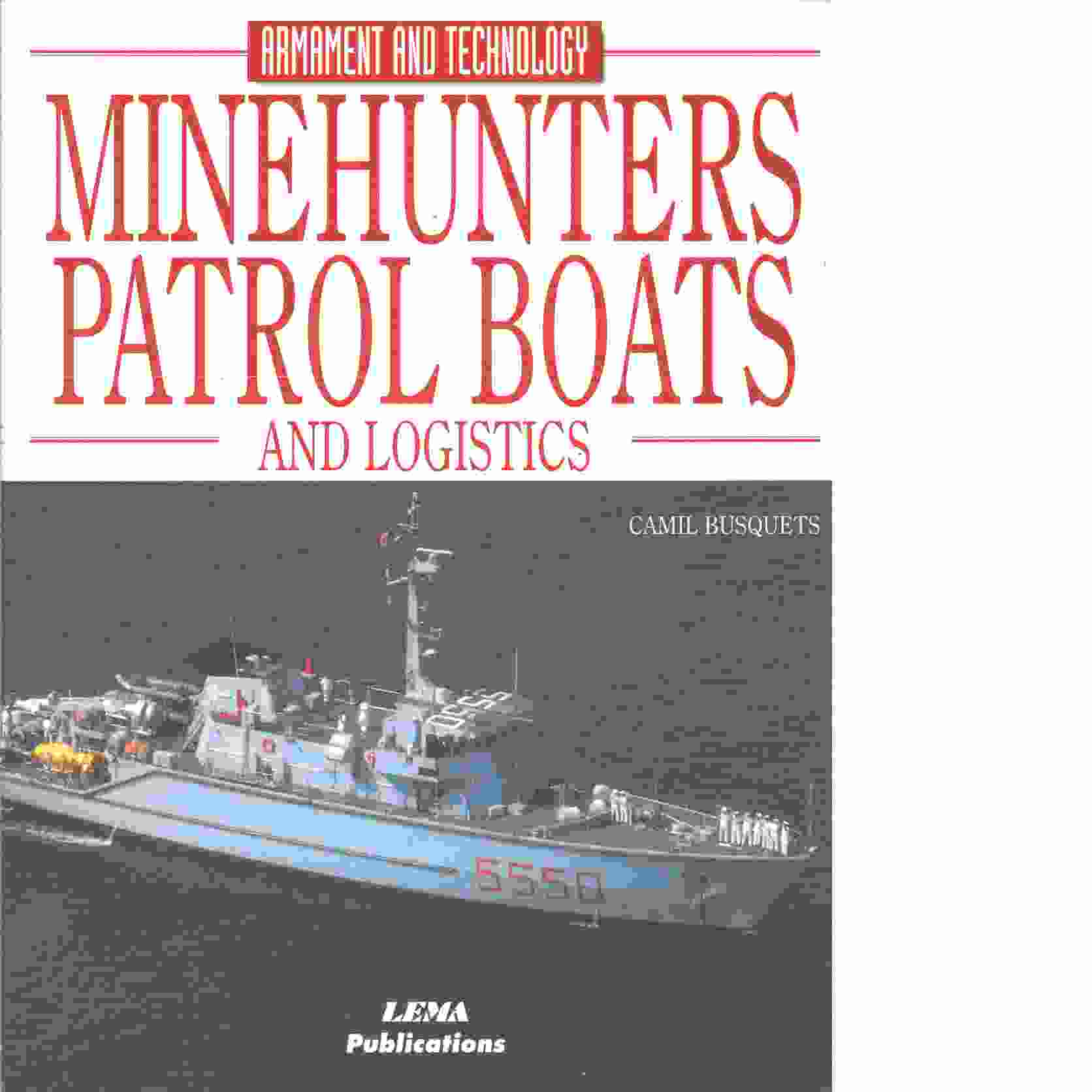 Minehunters, Patrol Boats and Logistics - Red.