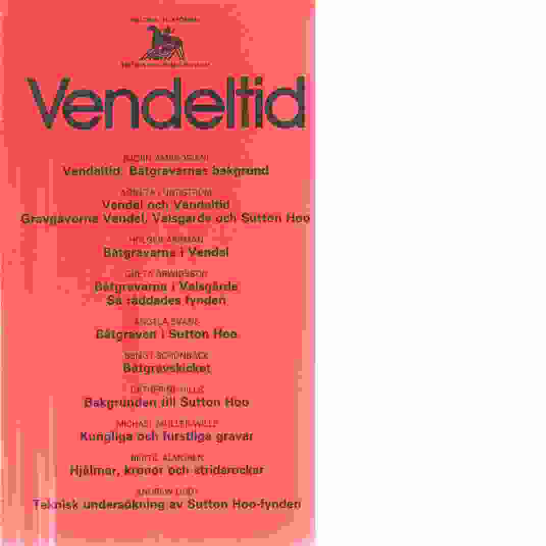 Vendeltid - Red. Sandwall, Ann