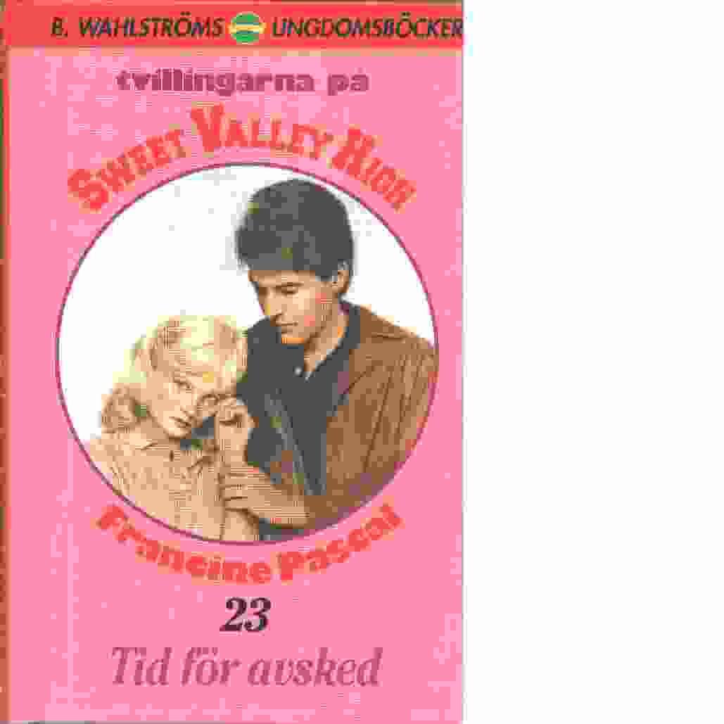 Tvillingarna på Sweet Valley High : Tid för avsked - Pascal, Francine