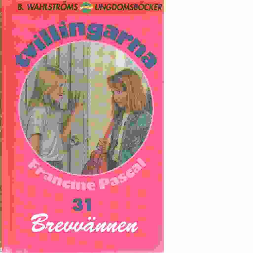 Tvillingarna 31 : Brevvännen - Pascal, Francine