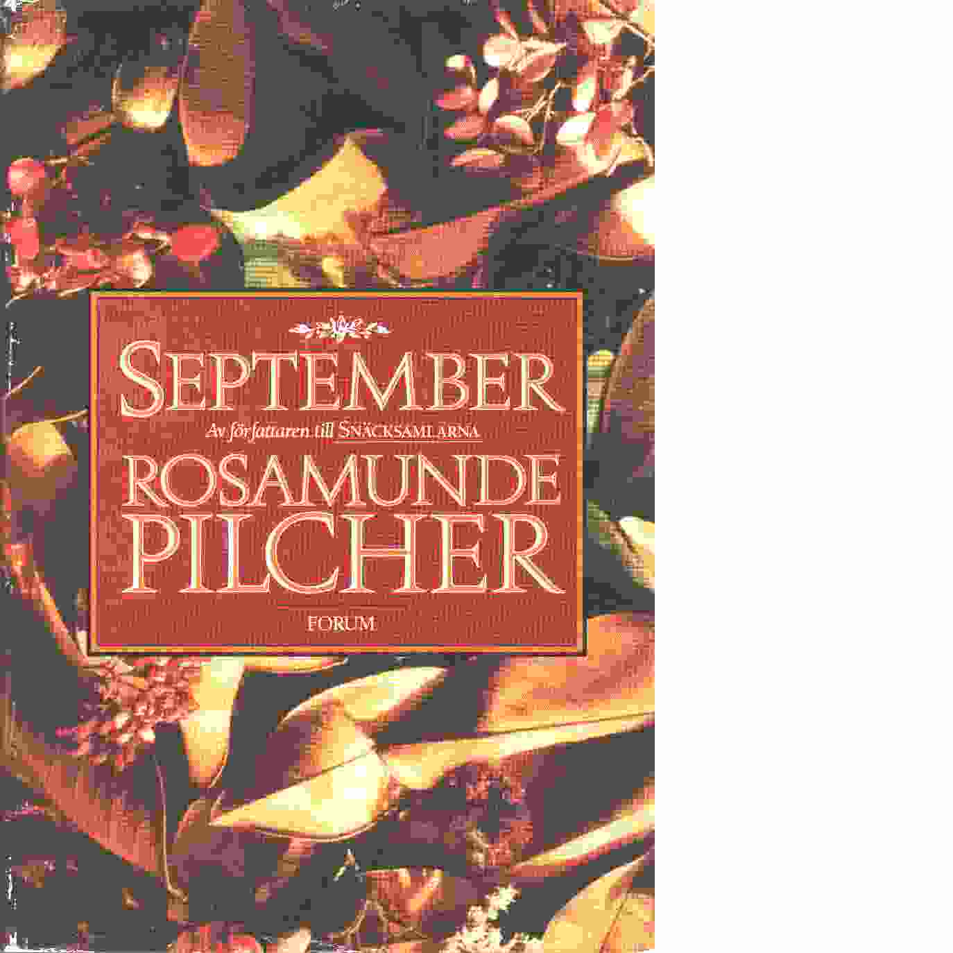 September  - Pilcher, Rosamunde