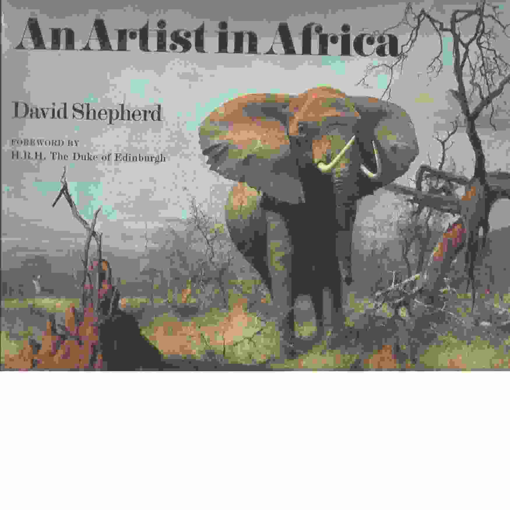 An Artist in Africa  -  Shepherd , David