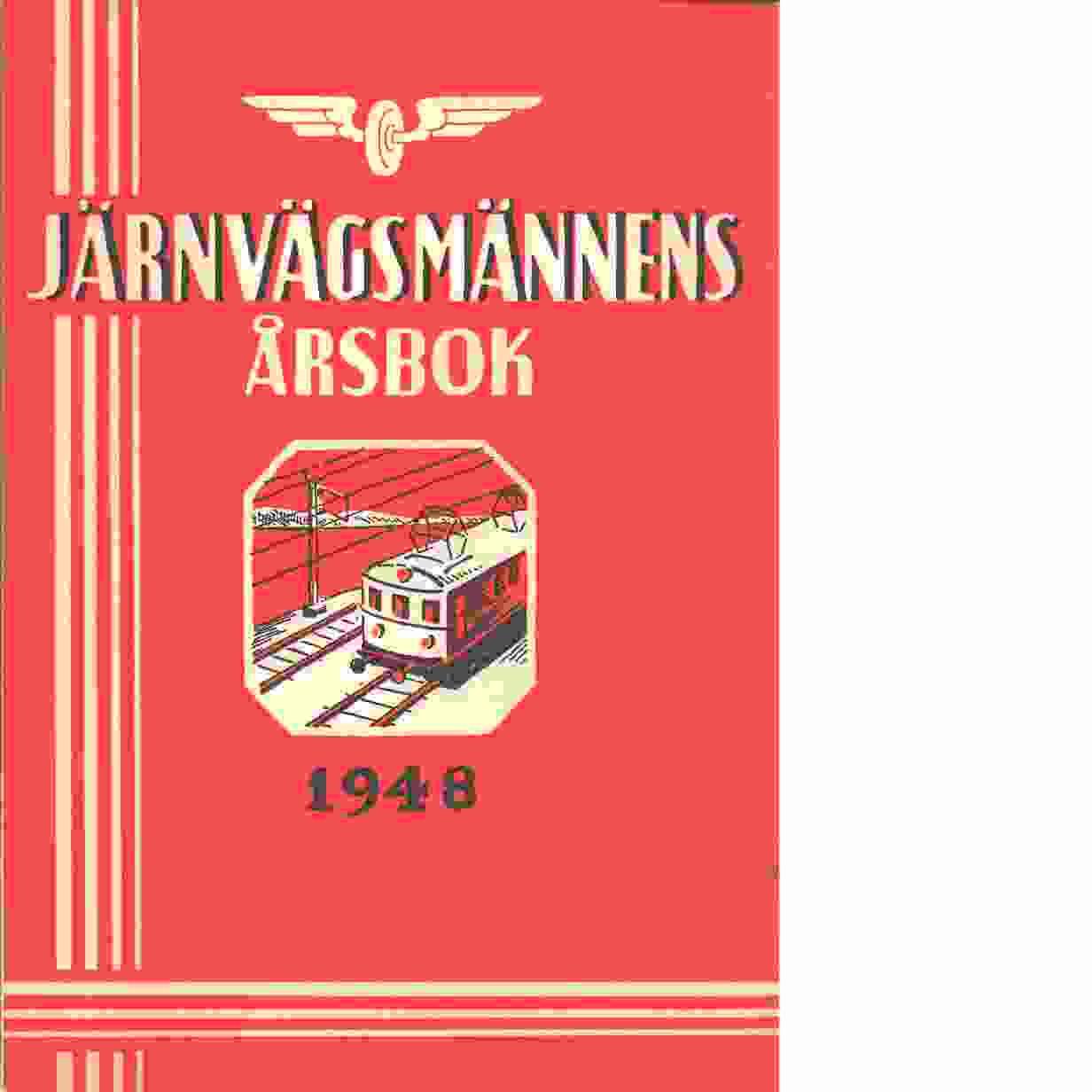 Järnvägsmännens Årsbok - Red.