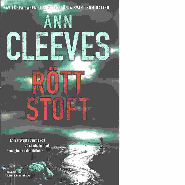 Rött stoft - Cleeves, Ann