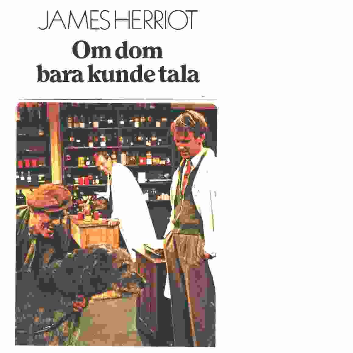 Om dom bara kunde tala - Herriot, James
