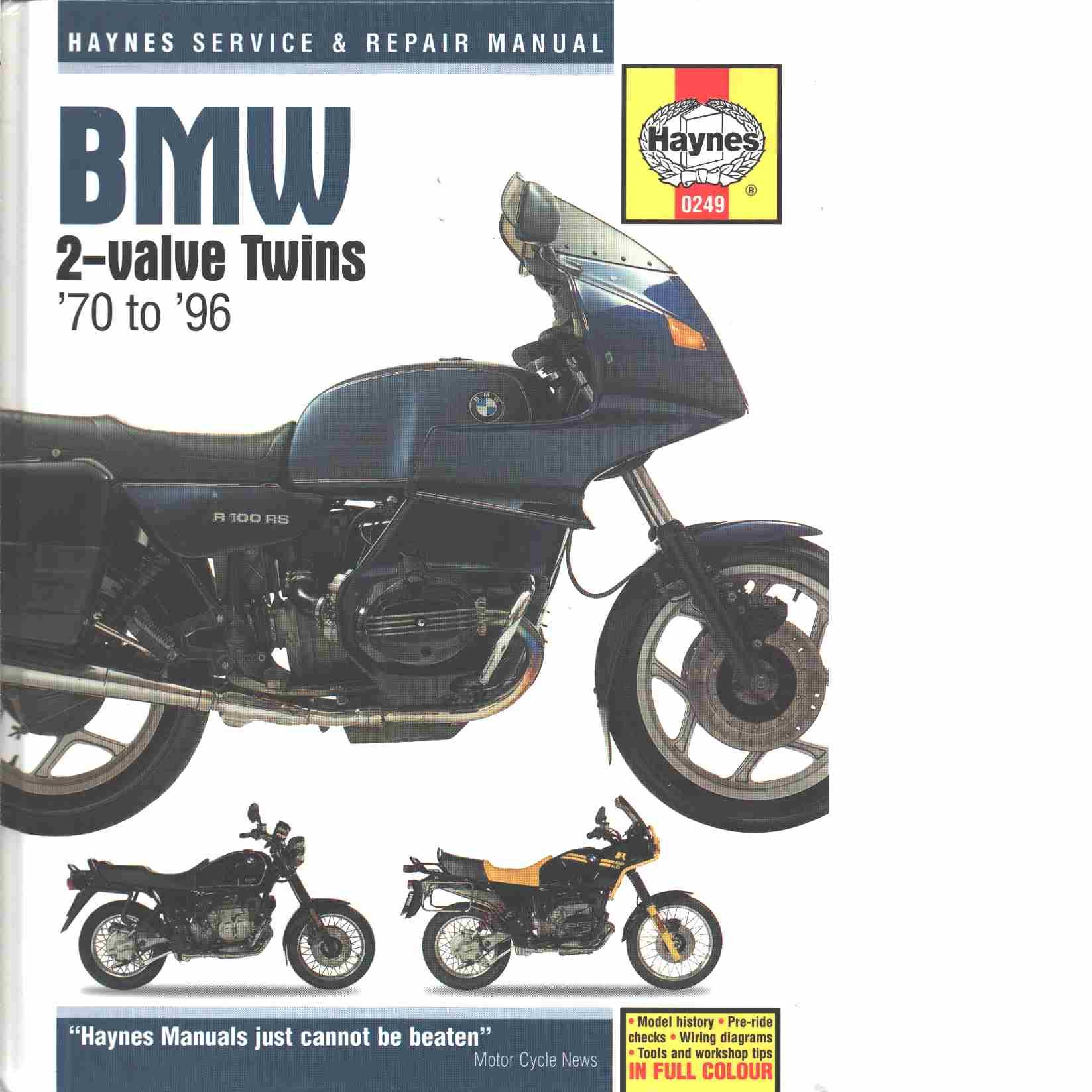 Bmw 2-valve Twins 1970-1996 - Churchill, Jerry