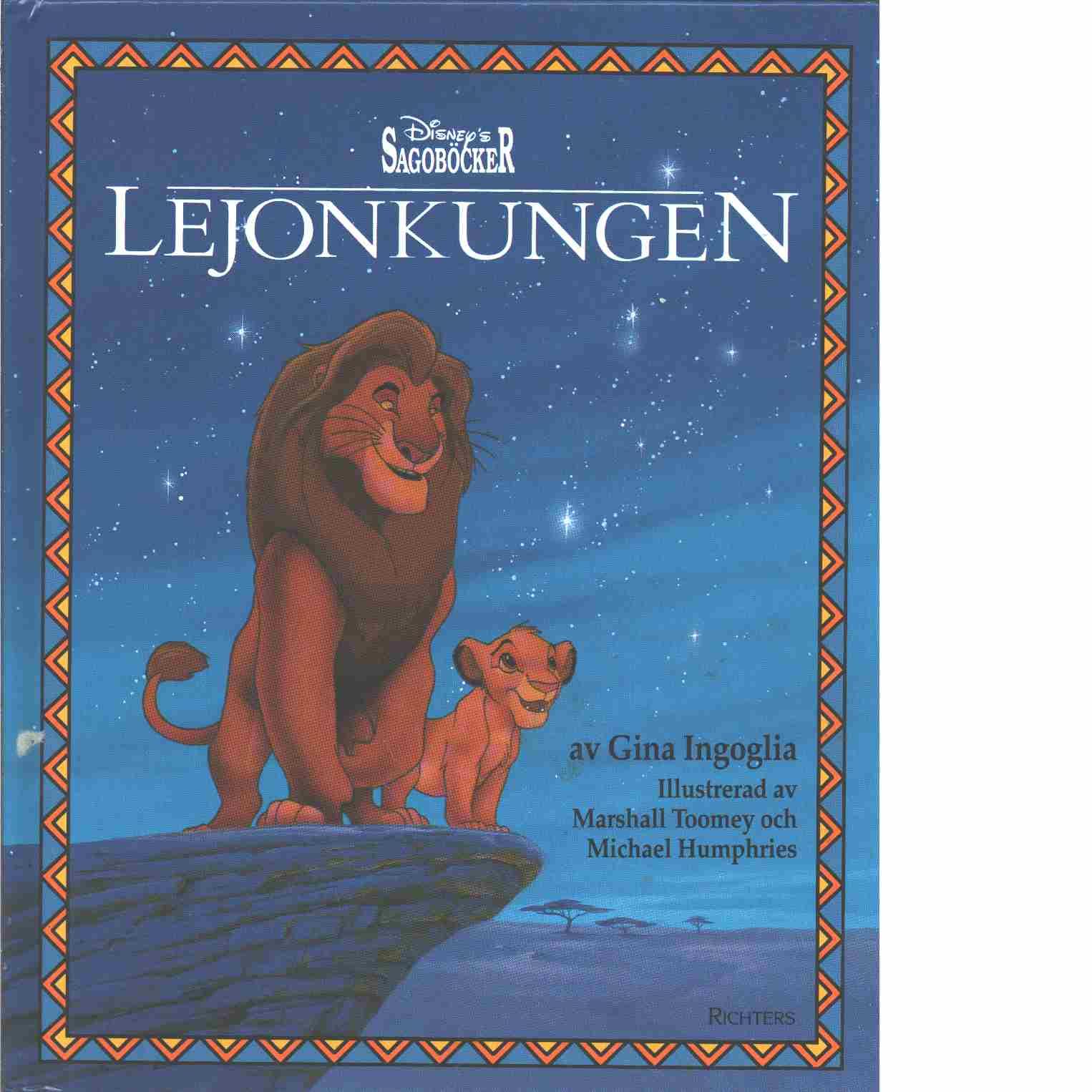 Lejonkungen - Ingoglia, Gina