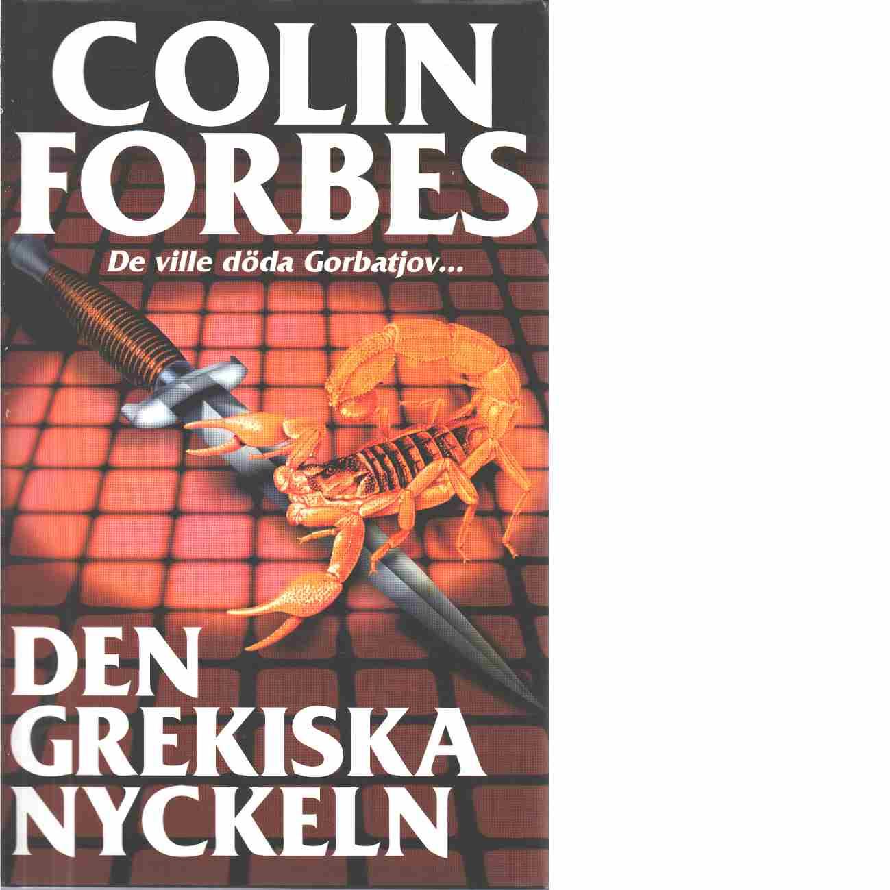 Den grekiska nyckeln - Forbes, Colin