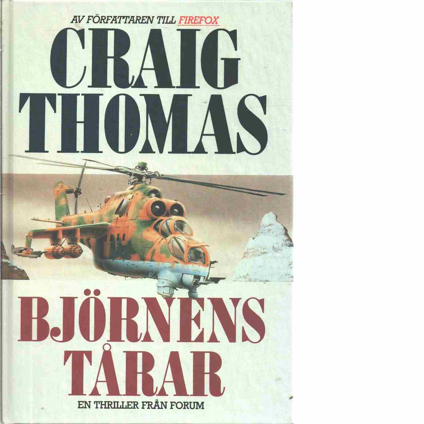 Björnens tårar - Thomas, Craig