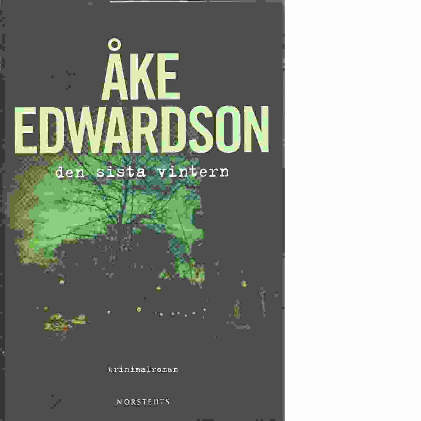 Den sista vintern - Edwardson, Åke