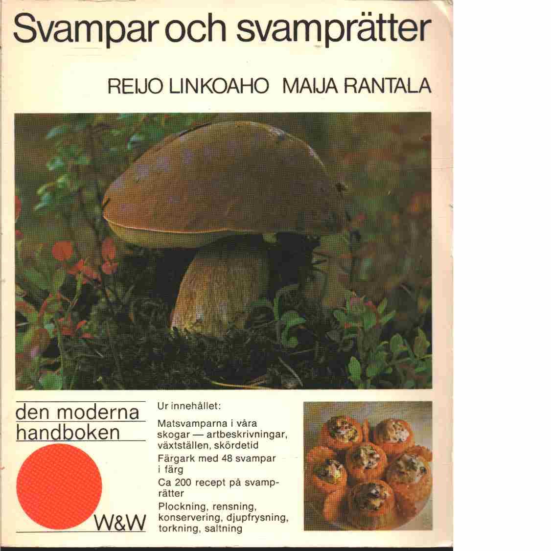 Svampar och svamprätter - Linkoaho, Reijo