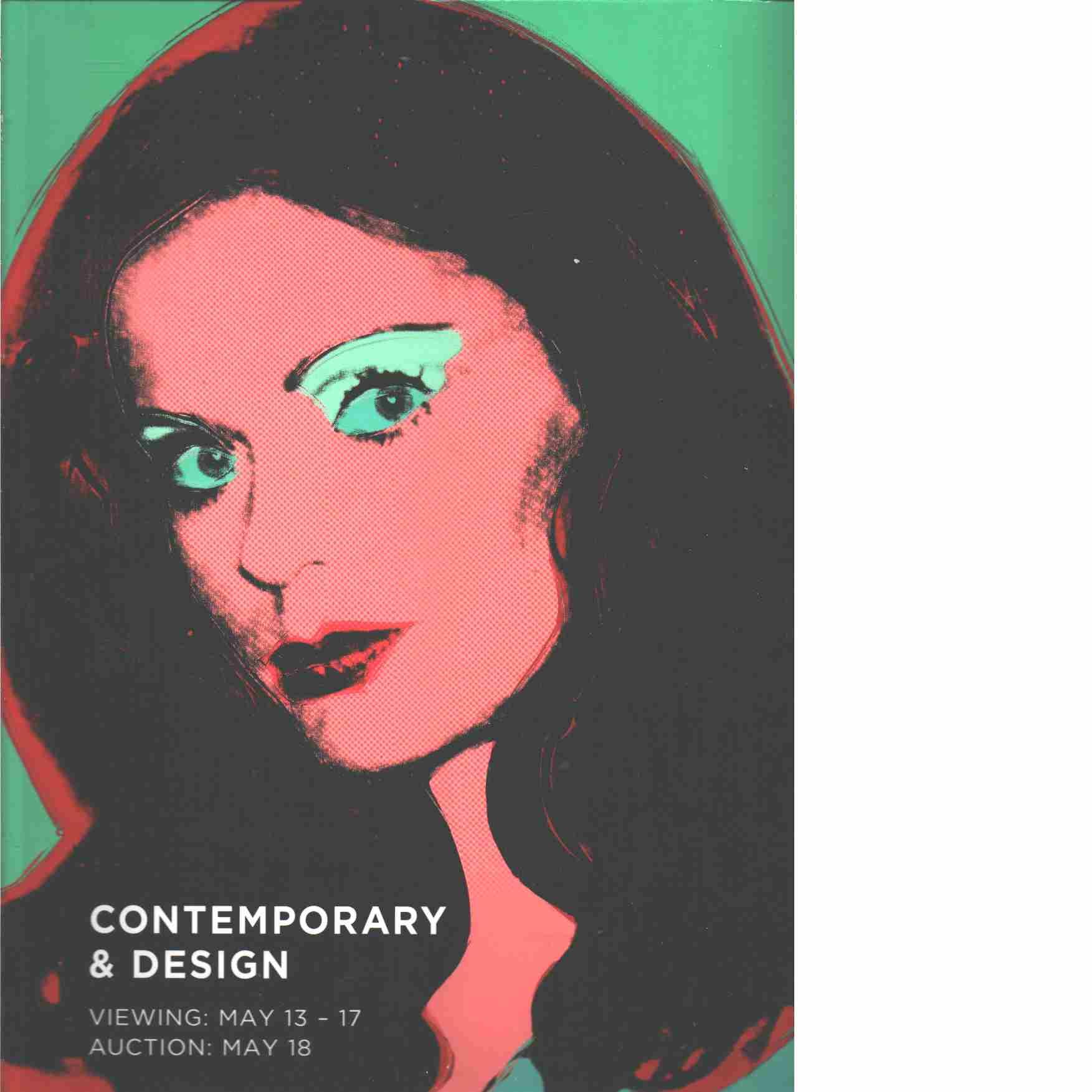 Contemporary & Design - Red.