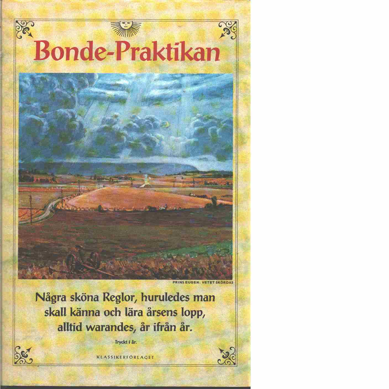 En liten bok, som kallas Bonde-Praktika, eller Wäderbok - Red.