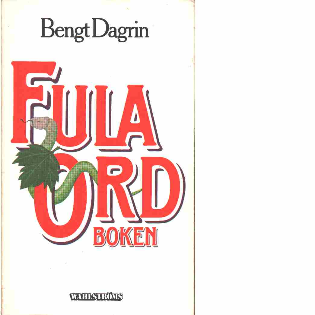 Fula ordboken - Dagrin, Bengt G