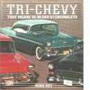 Tri-Chevy 55, 56 and 57 Chevs/C982Ae (Osprey auto colour series)  - Key, Mike