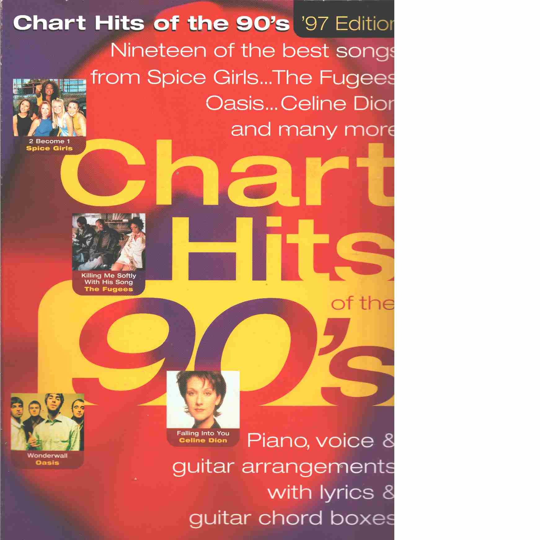 Chart Hits of the 90s - Red.