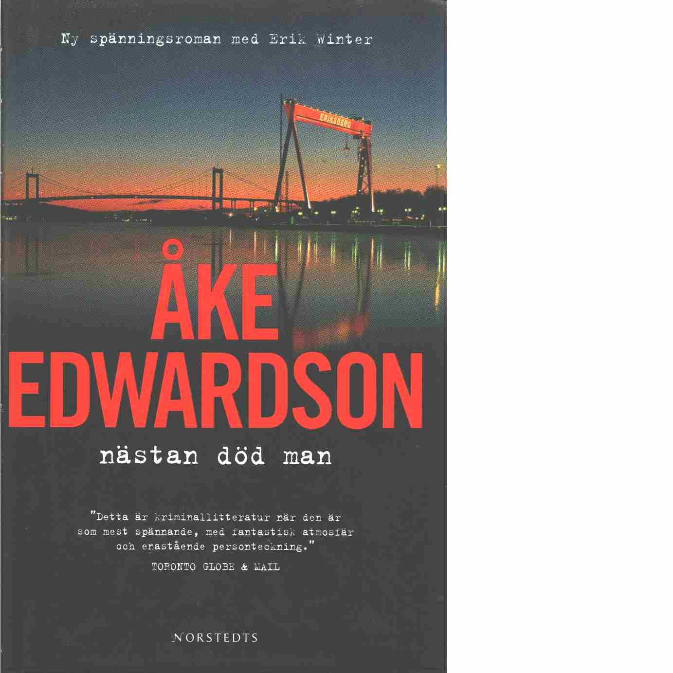 Nästan död man - Edwardson, Åke