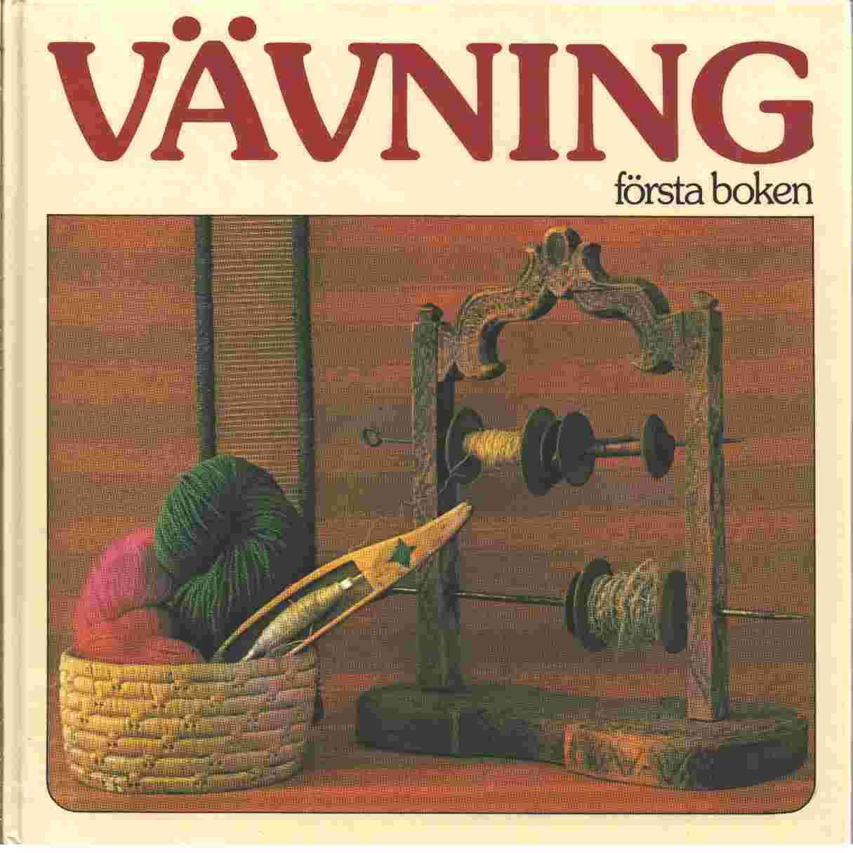 Vävning : första boken -  Brodén, Märta