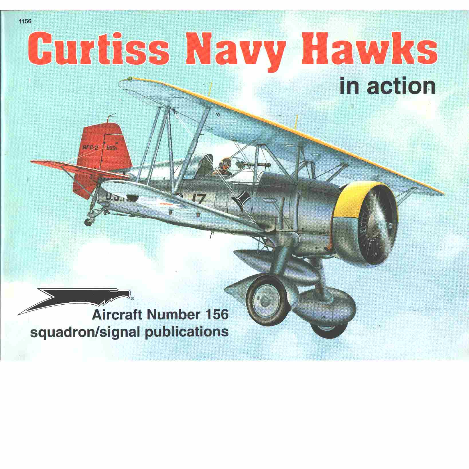 Curtiss Navy Hawks in Action - Aircraft No. 156  - Bowers, Peter