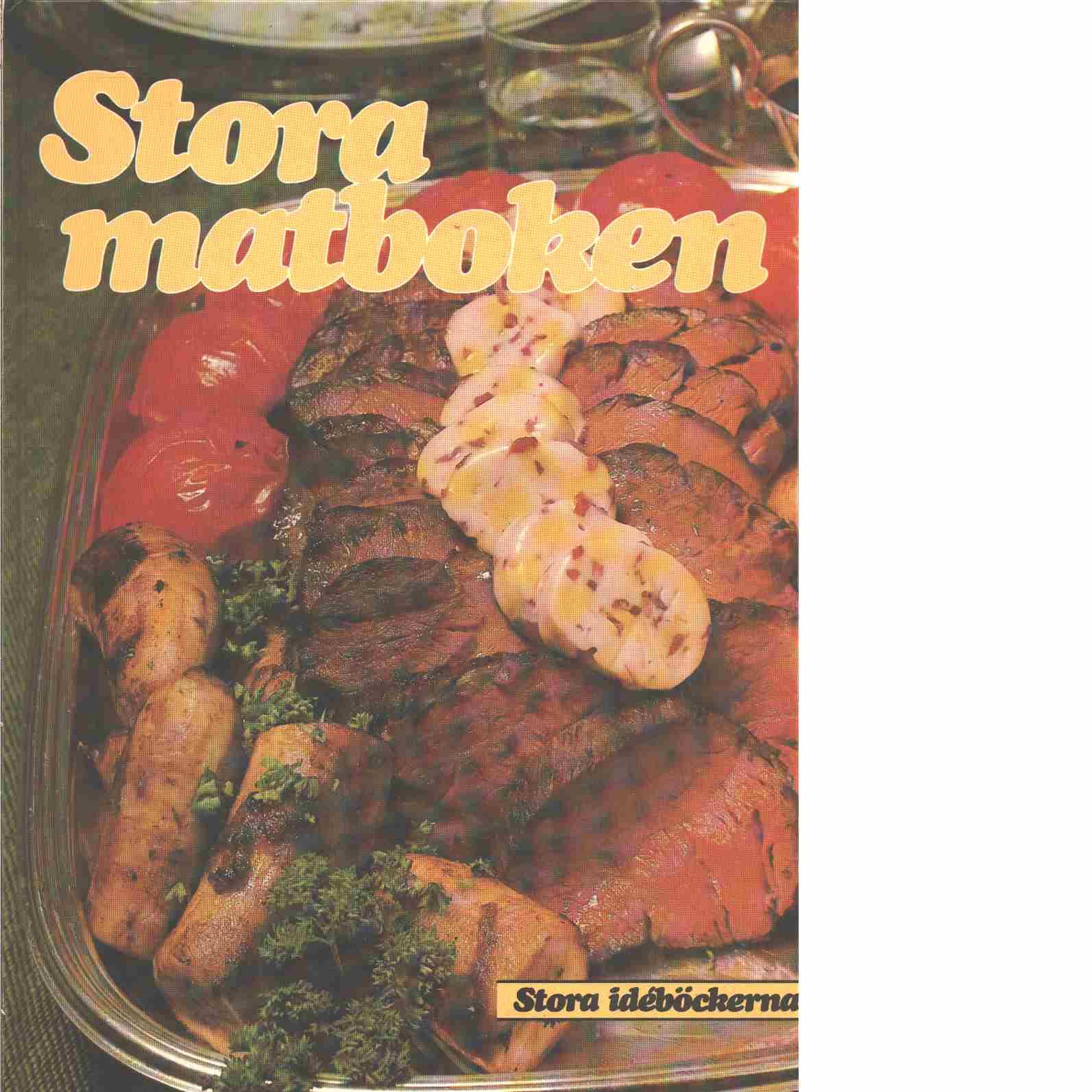 Stora matboken - Red. Falkenborg, Marie Louise