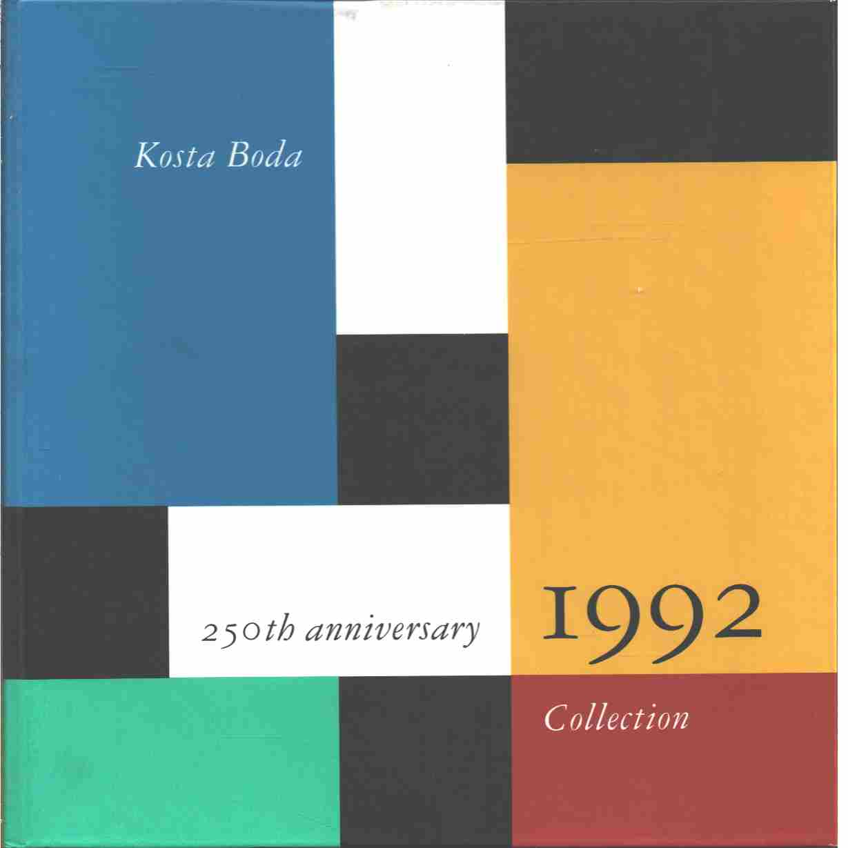 Kosta Boda Artist Collection.  - Red.
