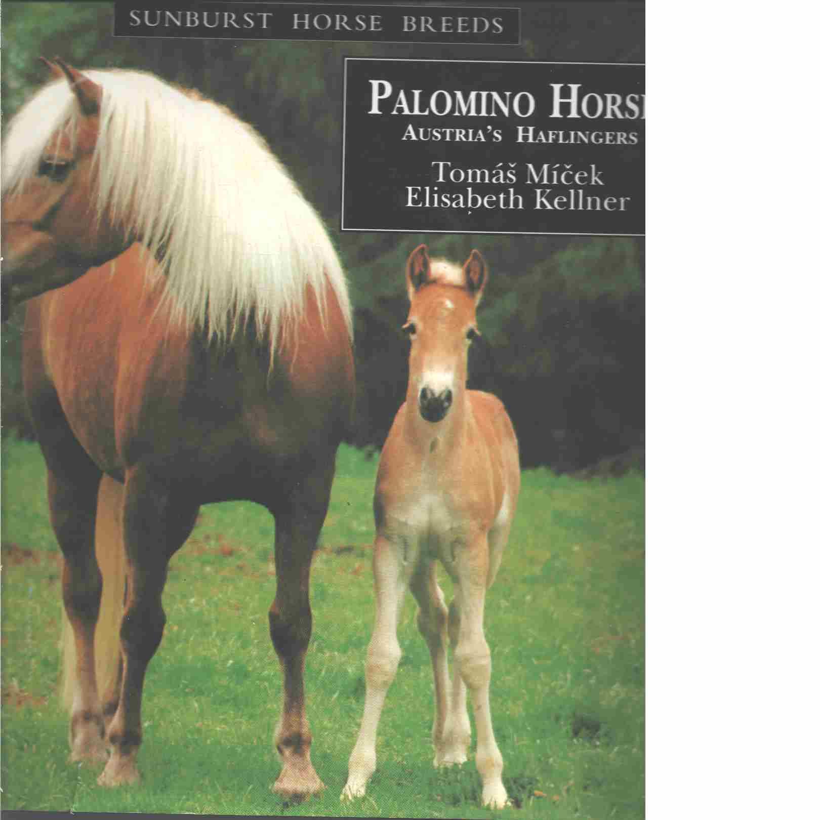 Palominos - Austria's Haflinger Horses  - Micek, Tomas and  Kellner, Elisabeth