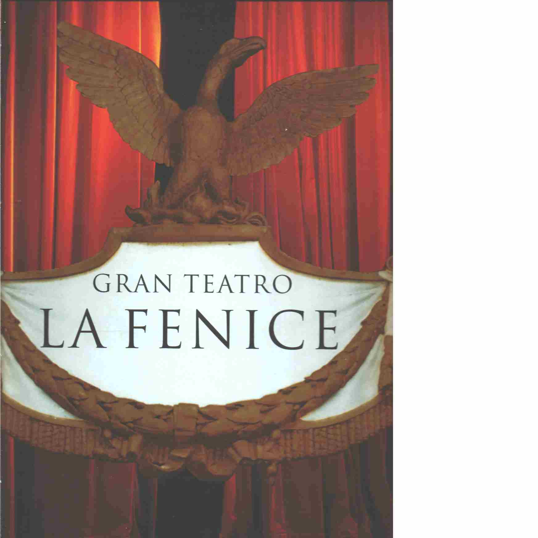Gran Teatro La Fenice - Romanelli, Giandomenico
