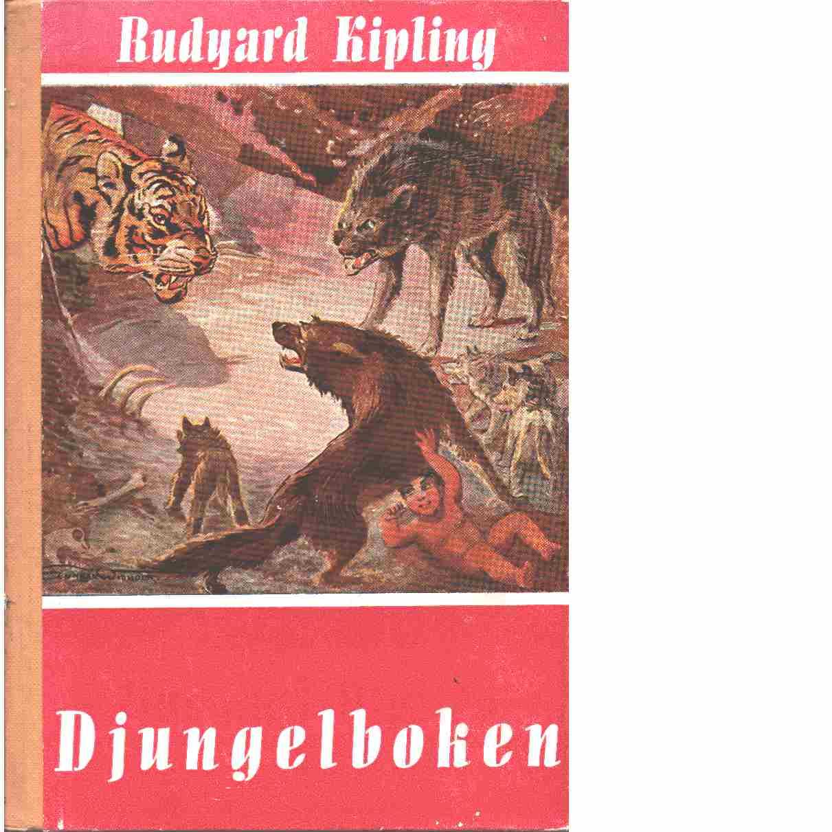 Djungelboken Del 1och 2 - Kipling, Rudyard