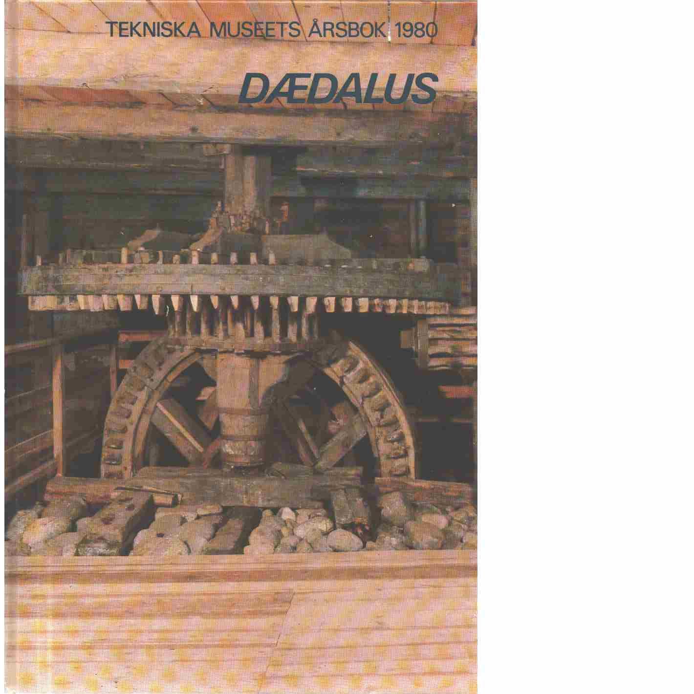 Dædalus : Tekniska museets årsbok. Årg. 49 - Red.