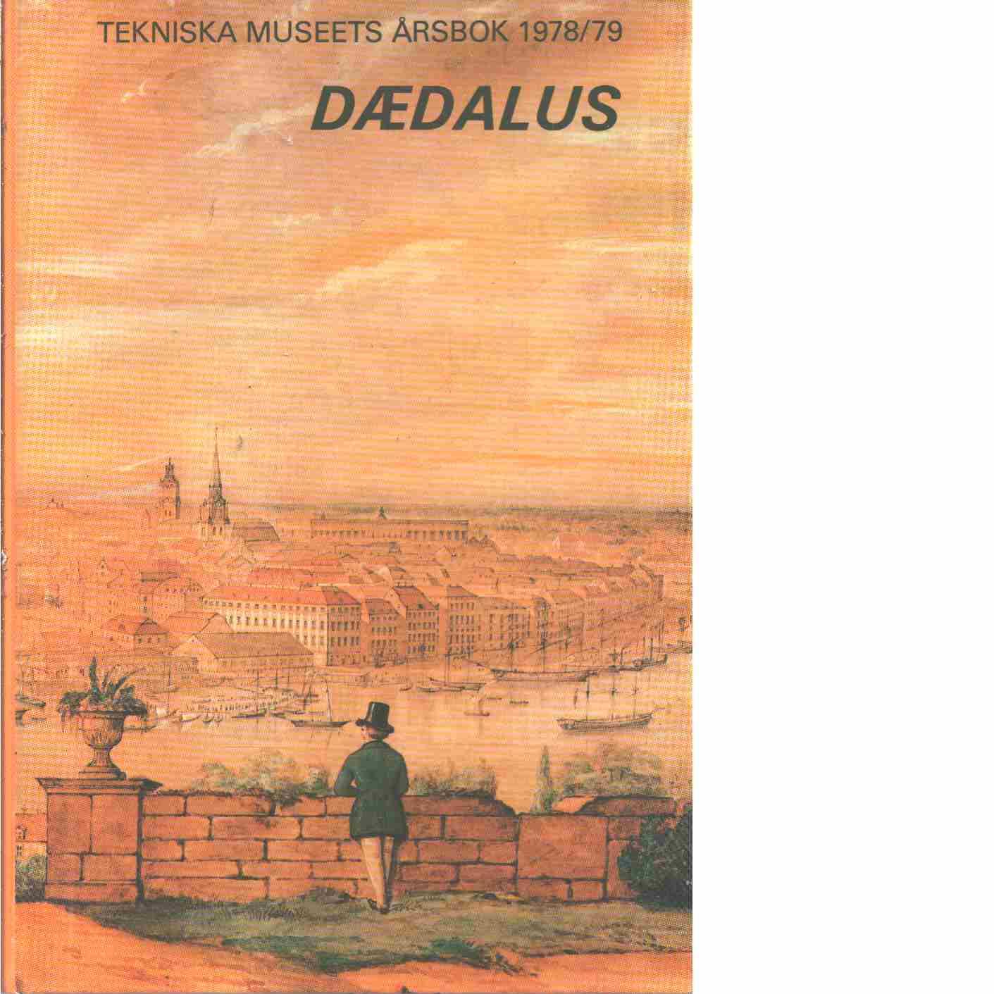 Dædalus : Tekniska museets årsbok. 48 - Red.