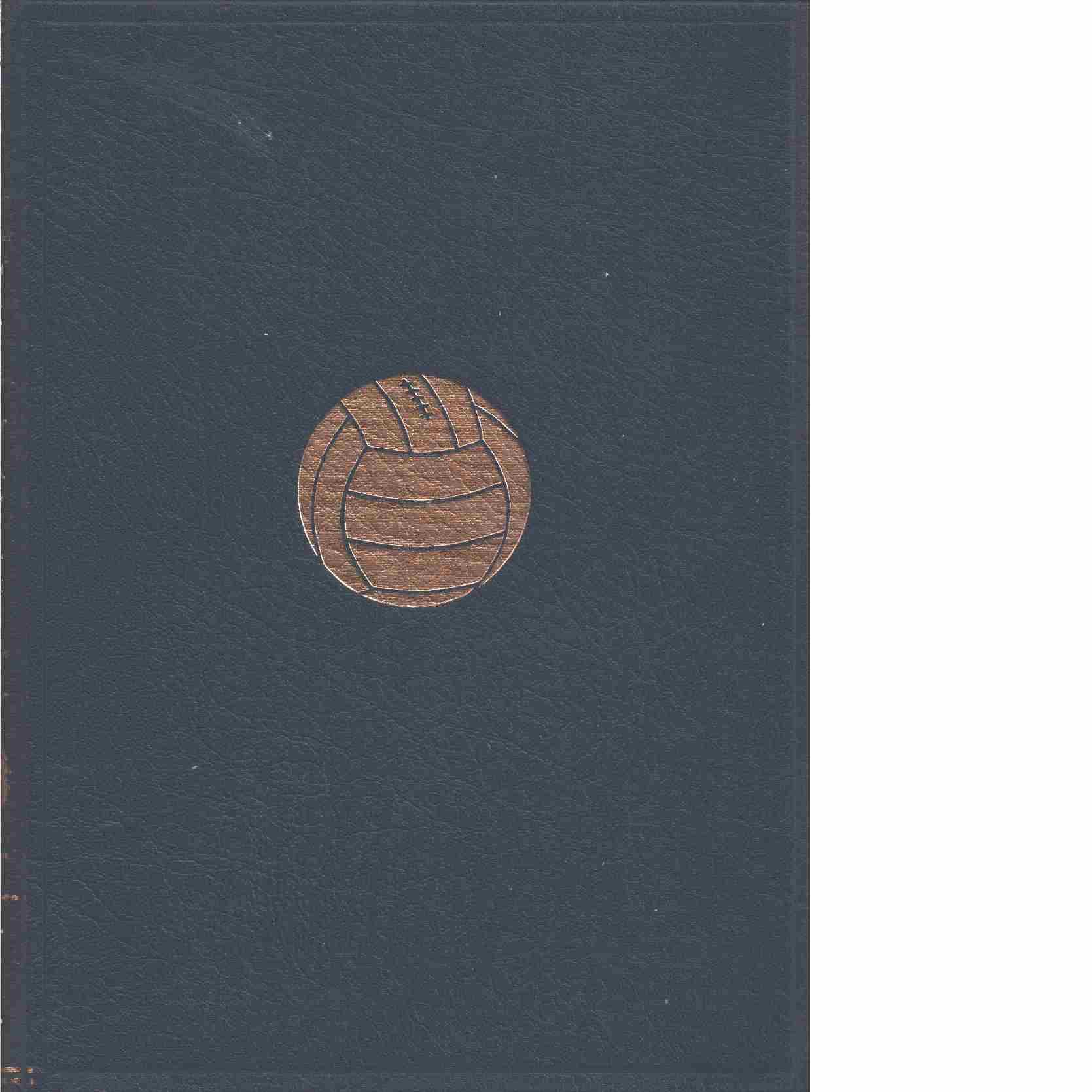 Årets fotboll 1962 - Red.