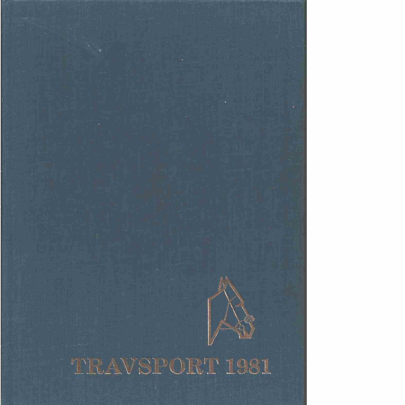 Travsport. 1981  - Red.