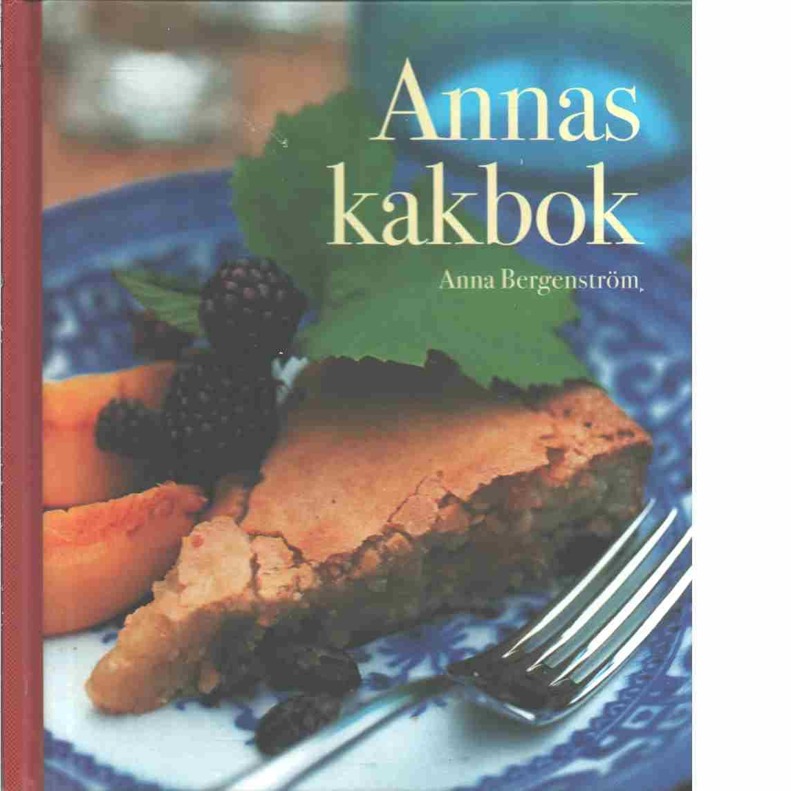Annas kakbok - Bergenström, Anna