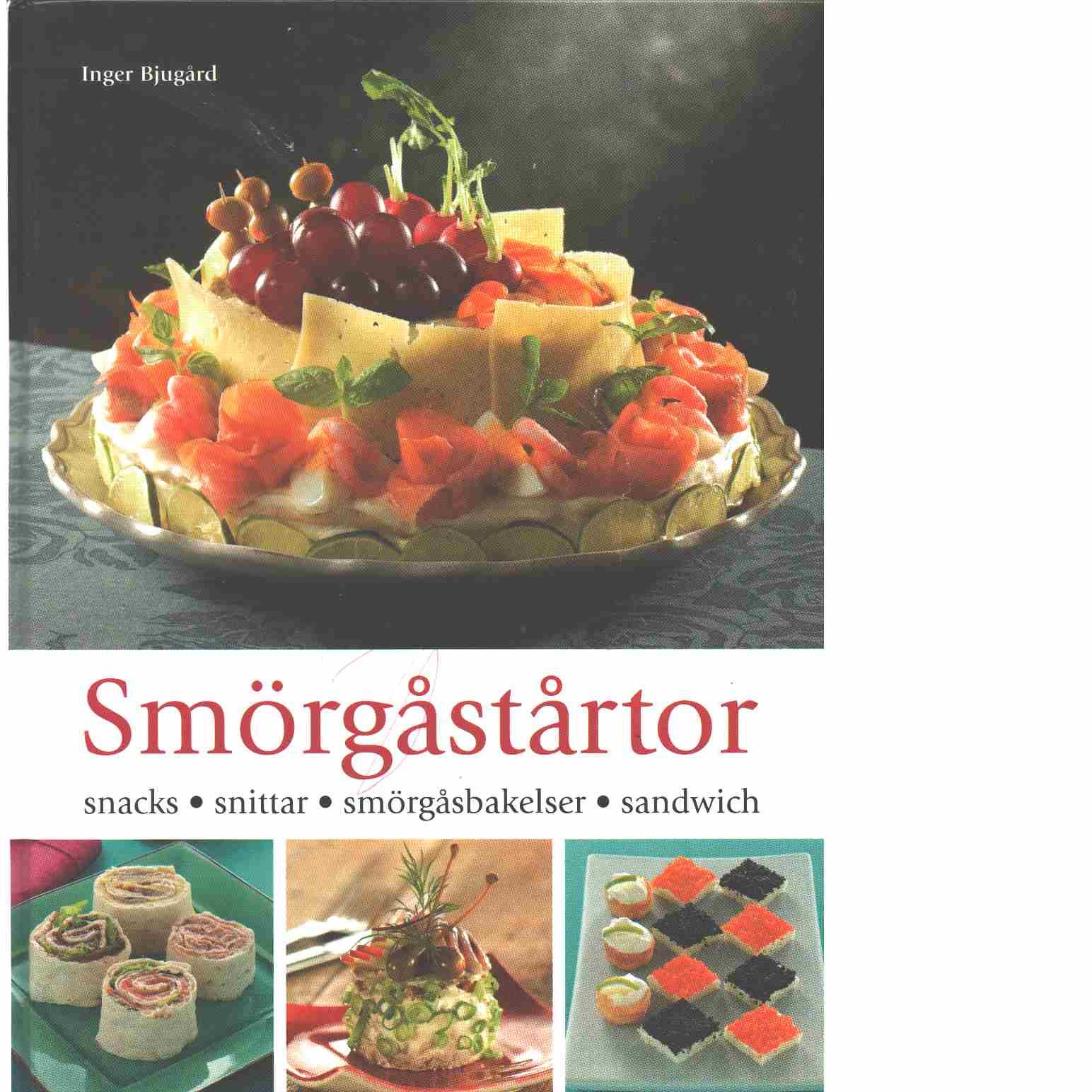 Smörgåstårtor : [snacks, snittar, smörgåsbakelser, sandwich]  - Bjugård, Inger