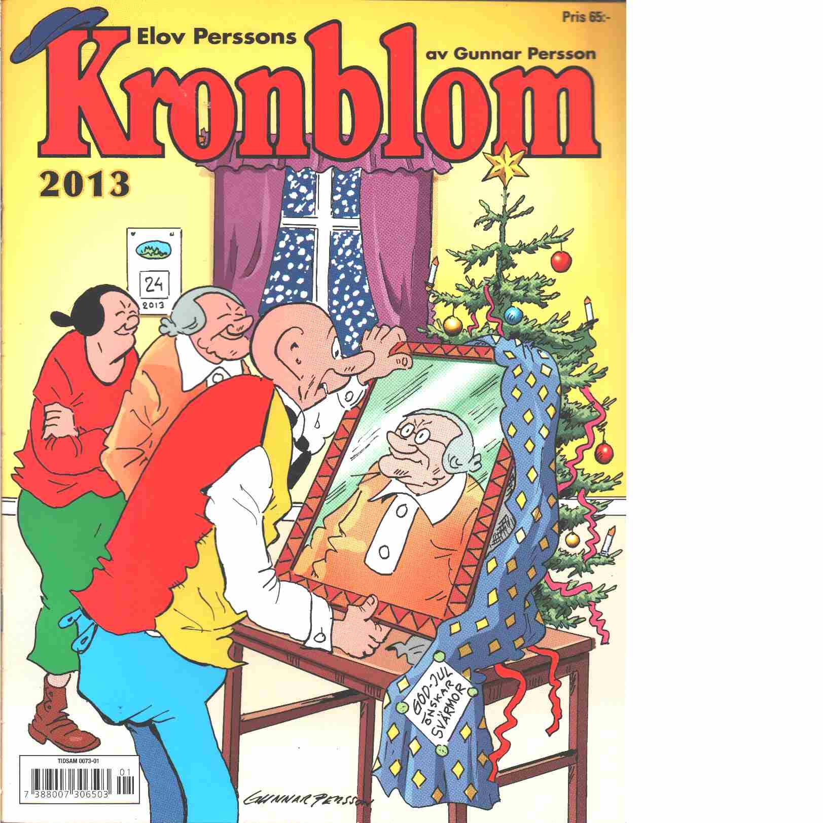 Kronblom Julalbum 2013 - Persson, Gunnar