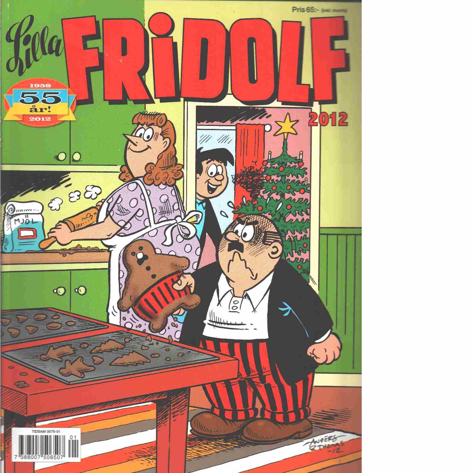 Lilla Fridolf Julalbum 2012 - Persson, Gunnar